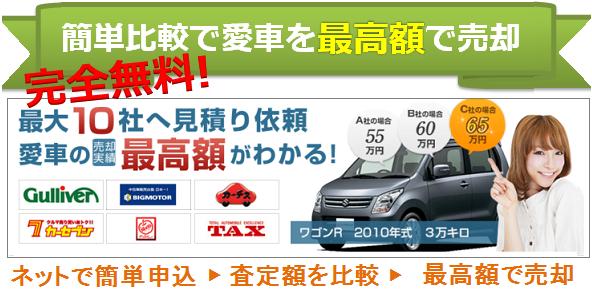 車買取の一括査定の特徴