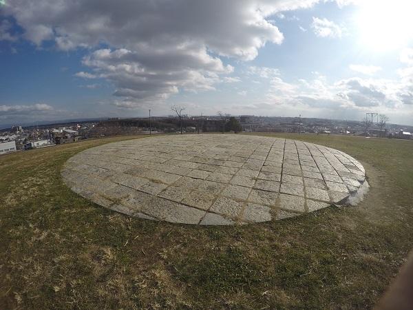 公園で一番高い場所